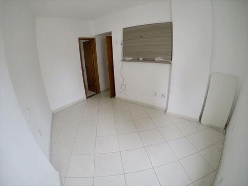 ref.: 3610 - apartamento em praia grande, no bairro guilhermina - 2 dormitórios