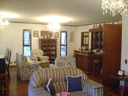 ref.: 3617 - apartamento em santos, no bairro gonzaga - 4 dormitórios
