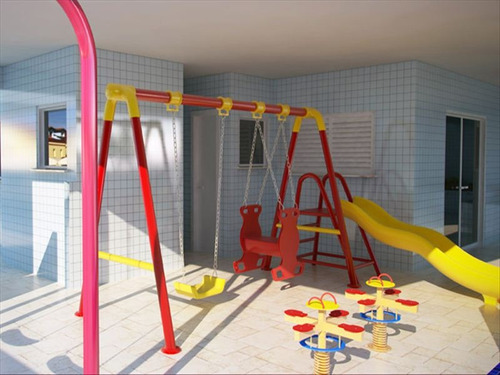 ref.: 36401 - apartamento em praia grande, no bairro vila tupi - 2 dormitórios