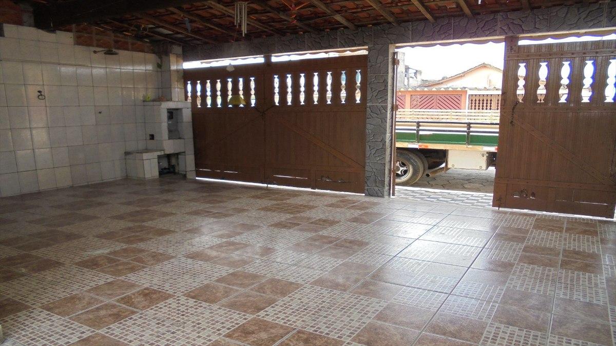 ref.: 368304 - casa em mongagua, no bairro florida mirim - 2 dormitórios