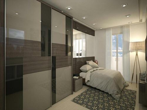 ref.: 3697 - apartamento em praia grande, no bairro canto do forte - 1 dormitórios