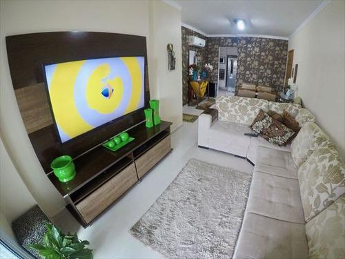 ref.: 3704 - apartamento em praia grande, no bairro boqueirao - 2 dormitórios