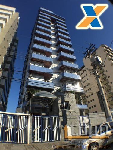 ref.: 3717 - apartamento em praia grande, no bairro canto do forte - 2 dormitórios