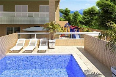 ref.: 375 - apartamento em praia grande, no bairro campo da aviacao - 2 dormitórios