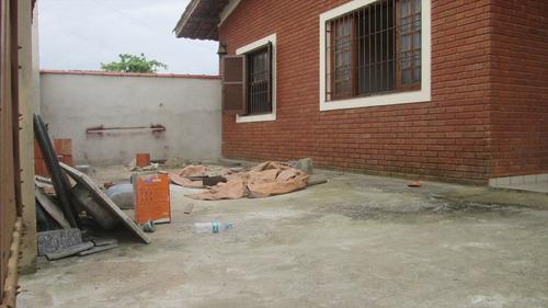 ref.: 37600 - casa em itanhaém, no bairro jardim suarão - 3 dormitórios