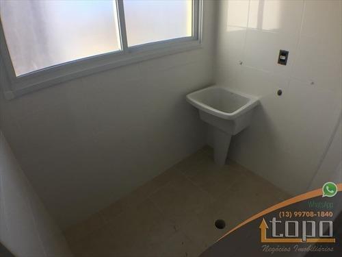 ref.: 3776 - apartamento em praia grande, no bairro canto do forte - 2 dormitórios