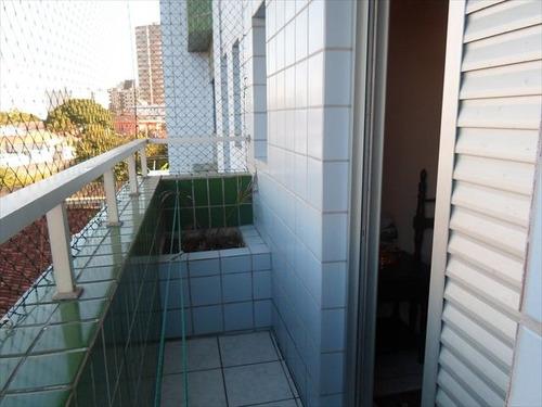 ref.: 378 - apartamento em praia grande, no bairro caicara - 2 dormitórios