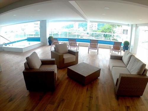 ref.: 3790 - apartamento em praia grande, no bairro boqueirao - 2 dormitórios