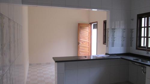 ref.: 37900 - casa em itanhaém, no bairro suarão - 1 dormitórios