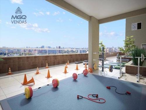 ref.: 3798 - apartamento em praia grande, no bairro caicara - 2 dormitórios