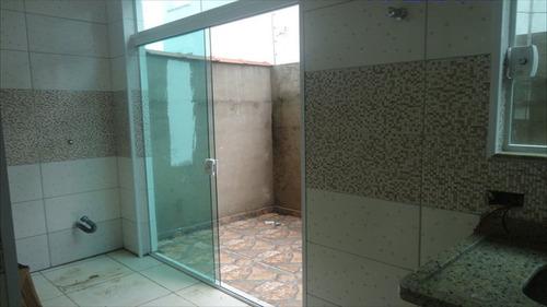 ref.: 3800 - casa condomínio fechado em itanhaém, no bairro praia do sonho - 2 dormitórios