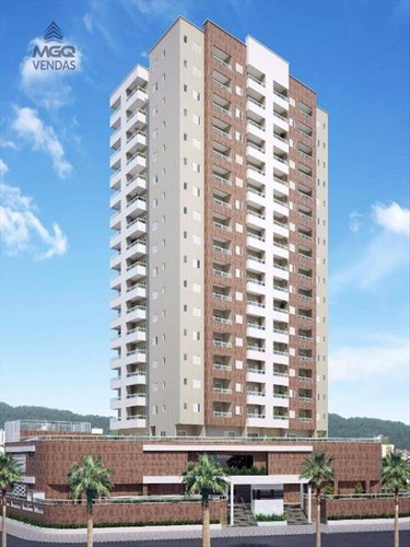 ref.: 3802 - apartamento em praia grande, no bairro caicara - 1 dormitórios