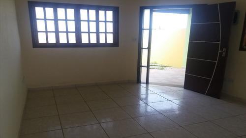 ref.: 382 - casa em itanhaém, no bairro jardim jamaica - 2 dormitórios