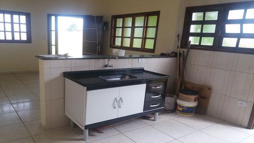ref.: 38200 - casa em itanhaém, no bairro jardim jamaica - 2 dormitórios