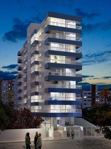 ref.: 3825 - apartamento em praia grande, no bairro guilhermina - 1 dormitórios
