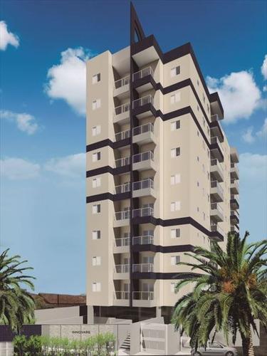 ref.: 3829 - apartamento em praia grande, no bairro mirim - 2 dormitórios