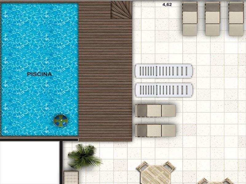 ref.: 383 - apartamento em bertioga, no bairro maitinga - 2 dormitórios