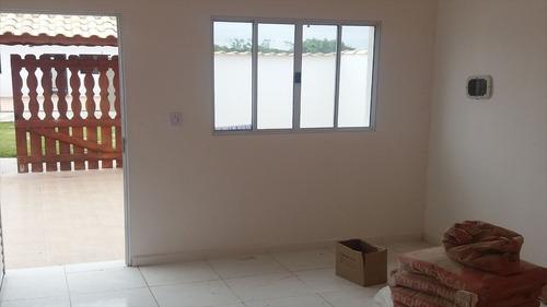 ref.: 383 - casa em itanhaém, no bairro jardim jamaica - 2 dormitórios