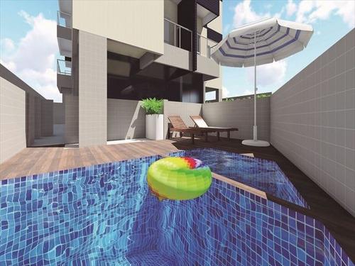 ref.: 3831 - apartamento em praia grande, no bairro mirim - 2 dormitórios
