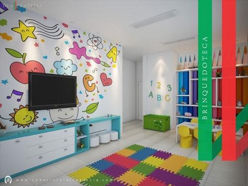 ref.: 3838 - apartamento em praia grande, no bairro guilhermina - 2 dormitórios