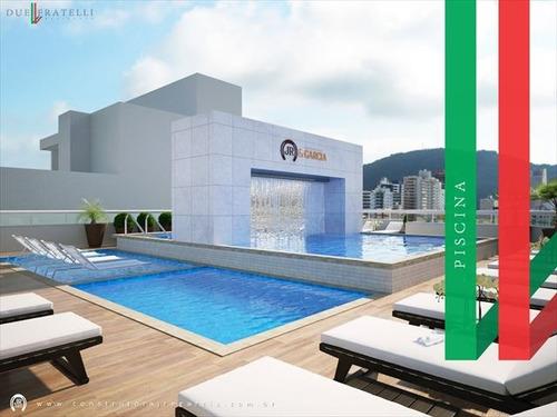 ref.: 3841 - apartamento em praia grande, no bairro guilhermina - 2 dormitórios