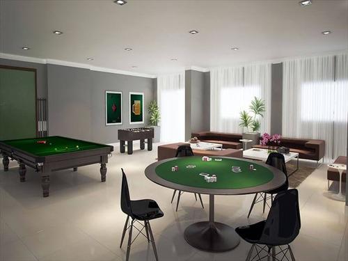 ref.: 3848 - apartamento em praia grande, no bairro aviacao - 2 dormitórios