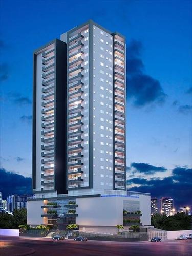 ref.: 3852 - apartamento em praia grande, no bairro tupi - 2 dormitórios
