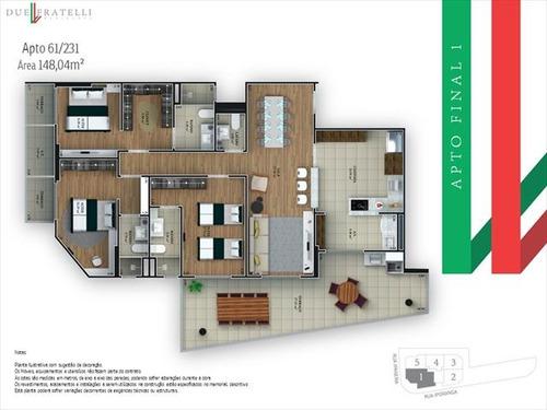 ref.: 3858 - apartamento em praia grande, no bairro guilhermina - 3 dormitórios