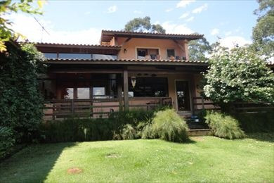 ref.: 3860 - casa condomínio fechado em cotia, no bairro parque das artes - 4 dormitórios