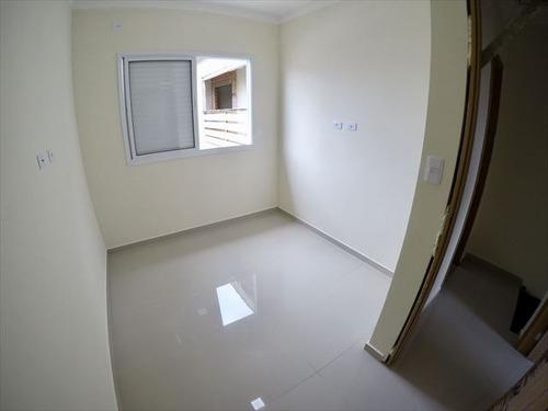 ref.: 3867 - casa condomínio fechado em praia grande, no bairro mirim - 3 dormitórios