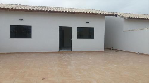 ref.: 387 - casa em itanhaém, no bairro jardim jamaica - 2 dormitórios