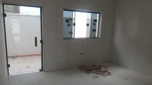 ref.: 38700 - casa em itanhaém, no bairro jardim jamaica - 2 dormitórios