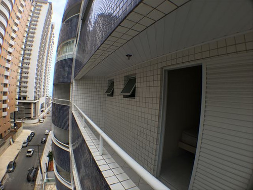 ref.: 3896 - apartamento em praia grande, no bairro canto do forte - 2 dormitórios