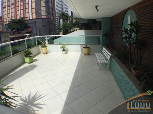 ref.: 3908 - apartamento em praia grande, no bairro boqueirao - 1 dormitórios