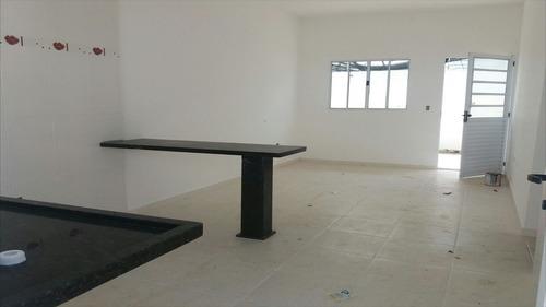 ref.: 39400 - casa condomínio fechado em itanhaém, no bairro cibratel 2 - 2 dormitórios
