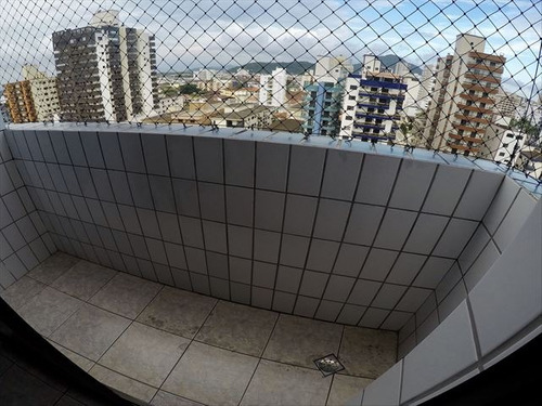 ref.: 3946 - apartamento em praia grande, no bairro guilhermina - 1 dormitórios