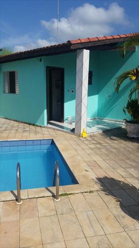 ref.: 39500 - casa em itanhaém, no bairro bal tupy - 3 dormitórios