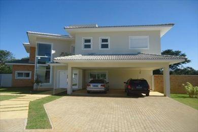 ref.: 3960 - casa condomínio fechado em cotia, no bairro alphaville granja viana - 4 dormitórios