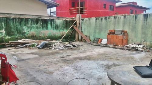 ref.: 397 - casa em itanhaém, no bairro balneário tupy - 2 dormitórios