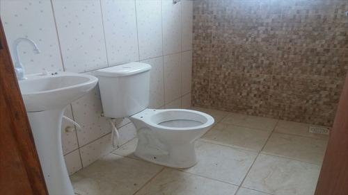 ref.: 39800 - casa em itanhaém, no bairro bal tupy - 2 dormitórios