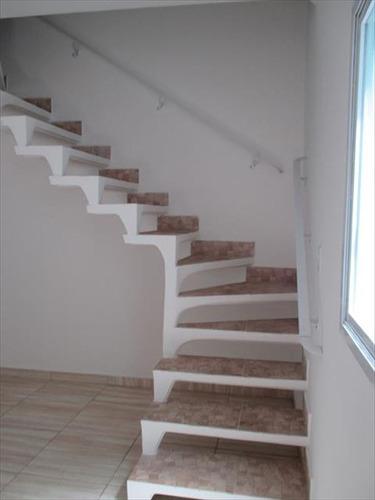 ref.: 4 - casa condomínio fechado em mongagua, no bairro vila atlantica - 2 dormitórios