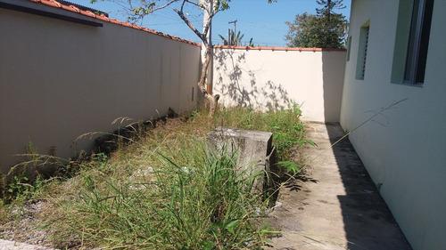 ref.: 4000 - casa em itanhaém, no bairro parque umuarama - 2 dormitórios