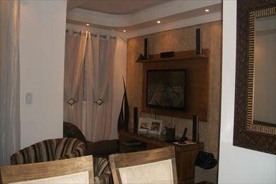 ref.: 4002 - apartamento em cotia, no bairro jardim petropolis - 2 dormitórios