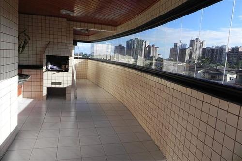 ref.: 401 - apartamento em praia grande, no bairro canto do forte - 2 dormitórios
