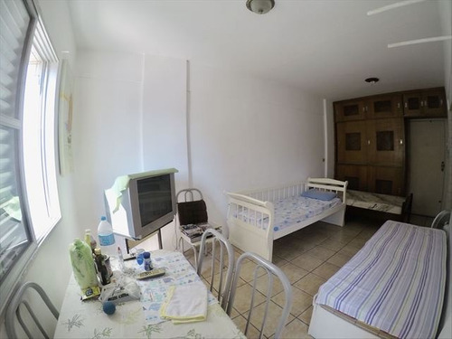 ref.: 4029 - apartamento em praia grande, no bairro guilhermina - 1 dormitórios