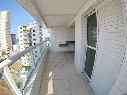 ref.: 4040 - apartamento em praia grande, no bairro aviacao - 2 dormitórios