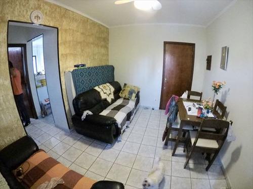 ref.: 4047 - apartamento em praia grande, no bairro guilhermina - 1 dormitórios