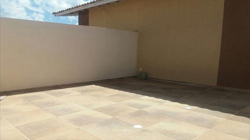 ref.: 40700 - casa em itanhaém, no bairro bal tupy - 2 dormitórios
