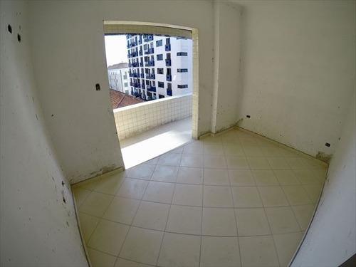 ref.: 4074 - apartamento em praia grande, no bairro boqueirao - 2 dormitórios
