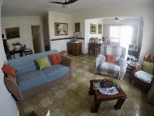 ref.: 4080 - apartamento em praia grande, no bairro guilhermina - 2 dormitórios